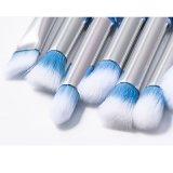 Balais cosmétiques professionnels bleus du renivellement 10PCS de vente bon marché