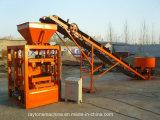 Qt4-24 Chaîne manuelle à béton à bloc creux Ligne de fabrication de brique