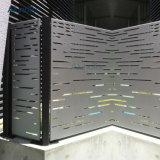 Modèle de panneau percé par écran en aluminium en métal