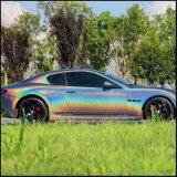 Pigmento do pó de mica do arco-íris do espelho do cromo da pintura do holograma