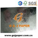 Покрытие из алюминиевой фольги тисненая бумага для свадебные приглашения