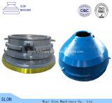 Hoher Mangan-Stahl Pegson Maxtrak Kegel-Zerkleinerungsmaschine-Umhang und konkav