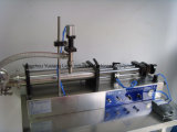 Horizontal semiautomático y la nata líquida neumática máquina de llenado (hopper)