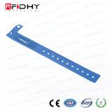 precio de fábrica de PVC/Pulsera de silicona TK4100 de la banda de RFID