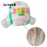 中国製使い捨て可能で安いPEのフィルムの赤ん坊のおむつ