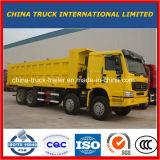 De Vrachtwagen van de Stortplaats van de Wielen HOWO van Sinotruk 8X4 12