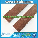 Профиль деревянного зерна пальто порошка прекрасно продающийся алюминиевый для итальянского рынка Италии