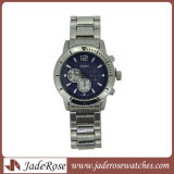 Mann-Uhr-Uhrenarmband Geschäfts-männliche Kalender-Taktgeber-Marken-Quarz-Bewegungs-Form-Uhren