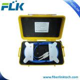 FTTHの光ファイバOTDR進水ケーブルテストボックスSc/LC/St/FCシングルモードマルチモード