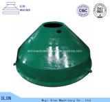 Concave de Delen van de Maalmachine van de Kegel van Metso Sg4265 van het Staal van het mangaan en Mantel