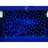 Luces LED cortinas decoración Cortinas de la estrella de la boda China para la venta