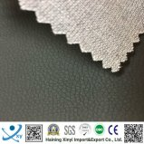Fabricantes gravados baratos impermeáveis do couro artificial do plutônio para a base, sofá