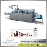 Máquina de encadernação do saquinho horizontal automático cheio para o frasco, sabão, pomada, farmacêutica, medicina, alimento, preservativo, câmara de ar, ferragem