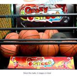 Macchina a gettoni della galleria di sport del centro del gioco della macchina di pallacanestro della galleria della macchina del cerchio della fucilazione della via