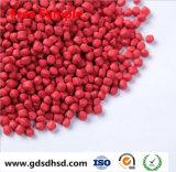 De Rode Kleur Masterbatch van de Rang HDPE/LDPE/LLDPE van de film met het Dioxyde van het Titanium van 10%