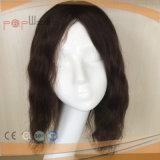 Lâche brésilien naturel perruque de cheveux ondulés hommes Toupee (PPG-L-0040)