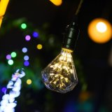 LED de utilização única de decoração a queda de água forma lâmpada LED