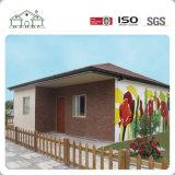 Chalet prefabricado de la casa del hogar del bajo costo del diseño moderno