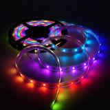 Magischer Traumflexibler LED Streifen 2812 der farben-5V programmiert für Weihnachtsdekoration