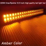 120W amber LEIDENE 21.5inch Lichte Staaf voor Auto 4X4SUV UTV