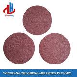 La resina Good-Sharpness Papel lija de disco de pulido en 4-9 pulgadas de tamaño
