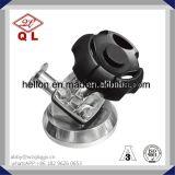 Valvola a diaframma saldata manuale sanitaria dell'acciaio inossidabile con U-Tipo T
