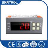 Controlador de temperatura do LCD Digital da saída do relé de Stc-8080h dois com sensor