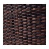 ブラウンの販売のための柳細工の屋外のテラスの家具