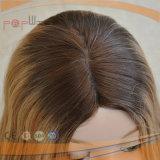 Peluca superior de seda hermosa del pelo humano (PPG-l-0629)