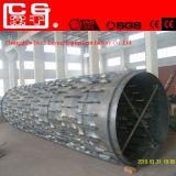 Estufa giratória material do cimento da fibra