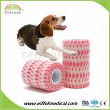 A FDA / CE / ISO Aprovado Veterinário animais de estimação bandagem coesa para exterior