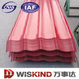 SGS гофрированный цвет стальной лист для изготовления стальных материалов