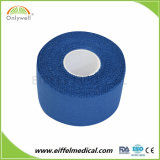 セリウムISOのFDAが付いている綿織物の付着力のスポーツの運動テープ