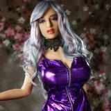 Gel van het Kiezelzuur TPE van de Invoer van Japan van Doll van de vagina het Materiële met Doll van de Entiteit van het Skelet