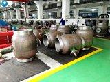 En acier au carbone GOST 12815-80 ST37.8 entièrement soudée Valve à bille à embase pour le gaz naturel