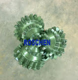 Dreikegeliger Rollen-Bohrmeißel/Karbid-Bohrgeräte für Öl-Erforschung-Dienstleistungen