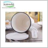 8.4*13cm tasse de café promotionnelle de deux types