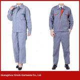 Vestuários personalizados do trabalho da qualidade do algodão melhores para o inverno (W180)