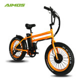 Changzhou Aimos nouveau modèle de dépliage de vélo électrique 20 pouces Ebike