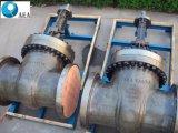 Скрепленная болтами литой сталью запорная заслонка клина Bonnet гибкая с перепуском