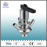 Válvula de amostra aspetica de aço inoxidável apertada (N ° RY0204)