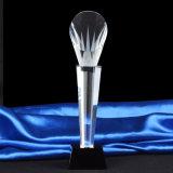 Premio di cristallo del trofeo della fiamma con la coda blu dello Swallow