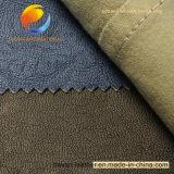 Tecido de vestuário de alta qualidade de couro sintético PU