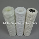 Herida de hilados de polipropileno PP cartucho de filtro de agua con 10/20/30/40 pulg.