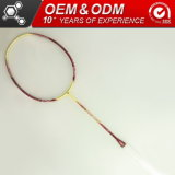 높은 Modulus Graphite 4u Sporting Goods Badminton Racket Factory