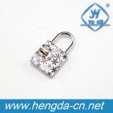 Yh1247 Bagages crâne de verrouillage de la conception cadenas à combinaison de fleurs à 3 chiffres