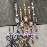 O relógio personaliza o relógio do aço inoxidável da liga do OEM do relógio (WY-040C)