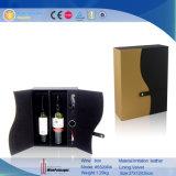 Cuero promocionales Botella de Vino Vino Caja de regalo (5520)