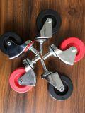 """2 """"車のクリーパー、中国の足車の工場価格のための旋回装置の足車"""