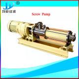Monoschrauben-Abwasser-progressive Kammer-Pumpe